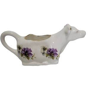 Royal Stafforshire England Bone China Cow Creamer